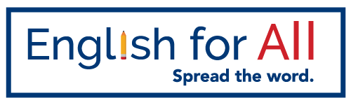 English for All logo