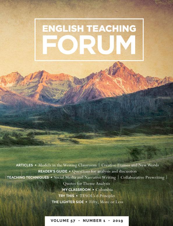 English Teaching Forum Volume 57, Issue 1