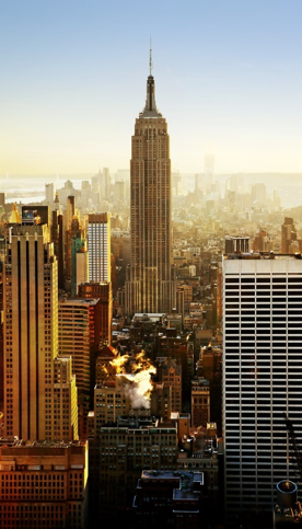 Picture of tall, skyscraper building known as The Empire State Building