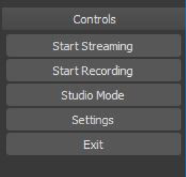 Figure 7: Click on the Start Recording button to begin recording your scene