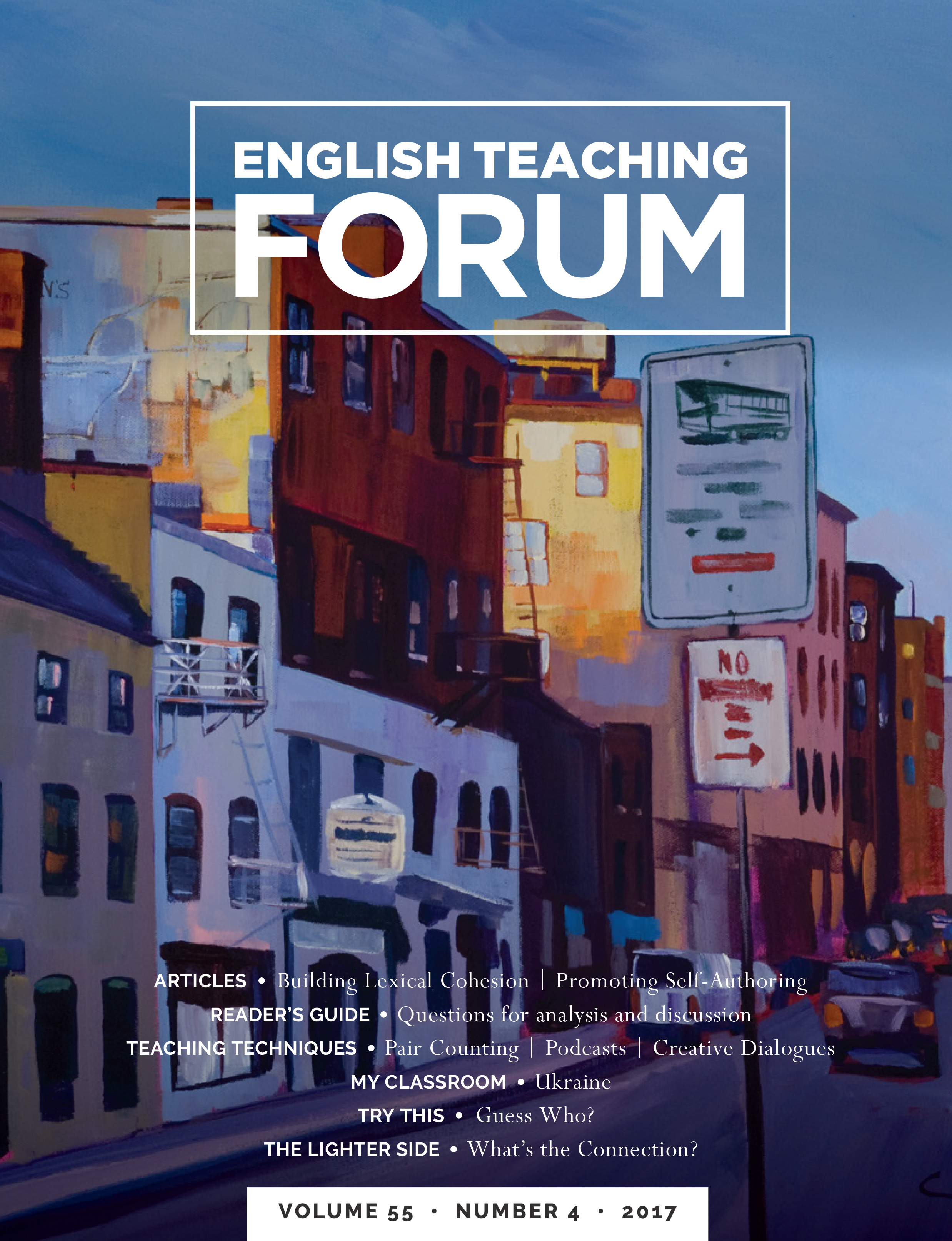 English Teaching Forum Volume 55, Number 4 | American English