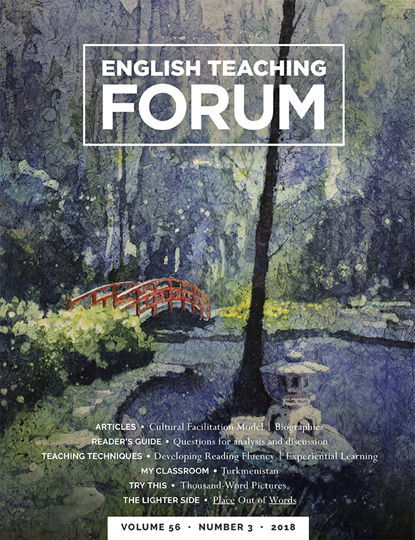 English Teaching Forum 2018, Volume 56, Number 3 | American
