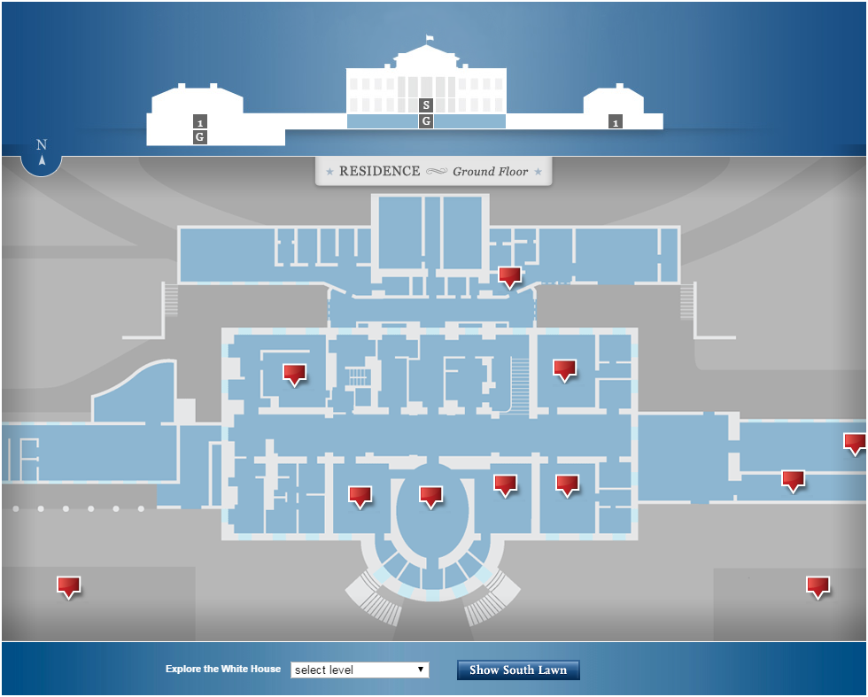 Www White House Gov About Inside White House Interactive Tour