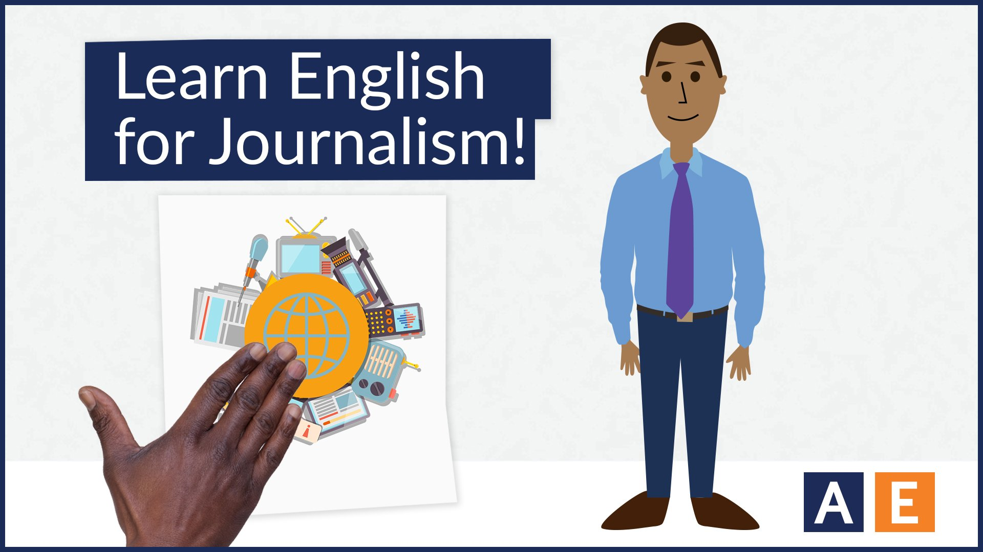 Learn English for Journalism