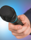 Microphone in hand