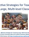 Effective Strategies for Teaching Large Classes