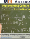 Implementing Content-Based Language Instruction in your Classroom