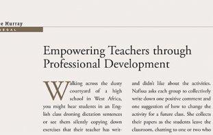 Teaching magazine